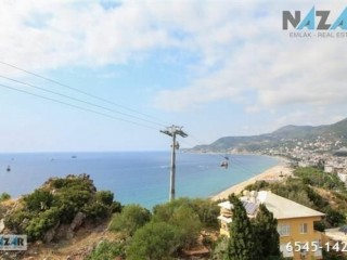 Alanya Cleopatra Beach View 1+1 Apartment For Sale