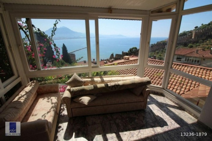 private-house-property-for-sale-in-historical-alanya-castle-ottoman-style-big-2