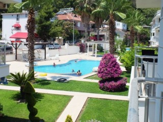 Cheap duplex apartment to buy in Kemer center by beach