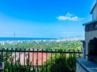 TWIN VILLAS FOR SALE WITH VIEWS OF ALANYA GOLD CITY