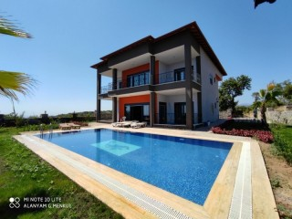 Ultra Luxury Villa With Pool With Sea View in Alanya
