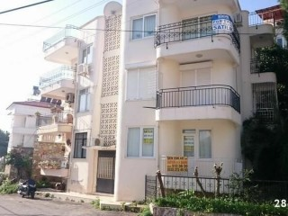 1+1 Separate kitchen apartment for sale in Alanya Castle.