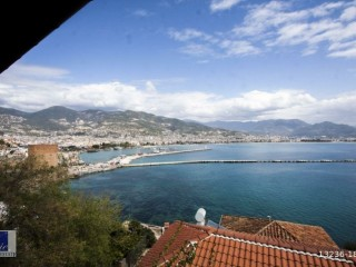 2+1 Apartments for sale in the historical Alanya castle walls