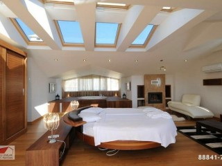 SPECTACULAR VILLA WITH FURNITURE IN A GIANT COMPLEX, ALANYA
