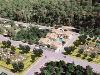 Bungalow off plan project for sale in Kemer Turkey