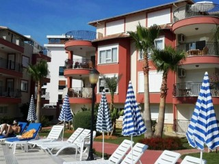 Alanya holiday duplex 4 bedroom villa for sale by beach