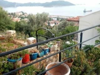 NICE APARTMENT WITH SEA VIEW FOR SALE IN KAS CENTER