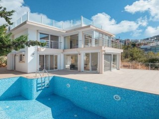 3+1 Modern Villa in Kalkan Barracks very close to the Sea
