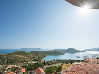 2+1 APARTMENT FOR SALE IN KAS CENTER WITH SPECTACULAR SEA VIEWS