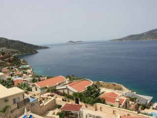 3 + 1 POOL APARTMENT FOR SALE WITH SEA VIEW IN ANTALYA KALKAN