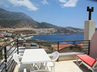 SEA VIEW, NEAR THE CENTRE, TRIPLEX VILLA, Kalkan