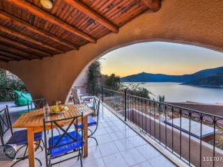 At Club Patara, great sea view, spacious 3+1, Kalkan
