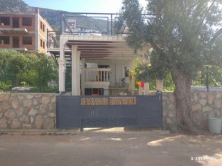 Owner of the detached house in Kaş Gökseki