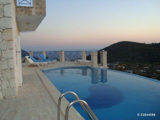 THE ONLY PLACE WITHOUT VIRUS ANTALYA KAS KALKAN VILLA WITH SUPER VIEW