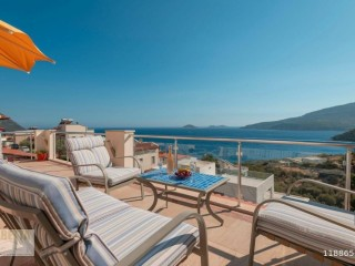 Luxury Villa with 5 bedrooms near the Sea in Kalkan's calamari Bay