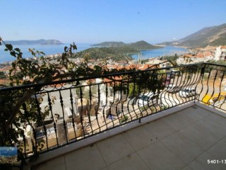 SEA VIEW 2+1 APARTMENT FOR SALE IN KAS CENTER