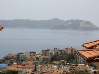 APARTMENT FOR SALE IN KAS CENTER WITH 2 + 1 VIEWS-GARDEN