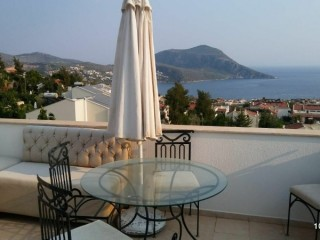 TWO MAGNIFICENT VILLAS IN THE HEART OF KALKAN (8+2) FOR ONE PRICE