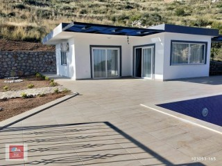 New Built Villa For Sale Kas, Patara, Gelemiş against forest, close to Firnaz bay