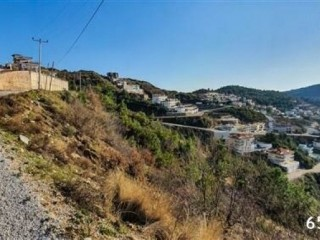 581 m2 Plot With Spectacular Sea And Castle Views, Alanya