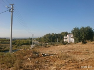 700 m2 VILLA PLOT WITH SEA VIEW, MANAVGAT