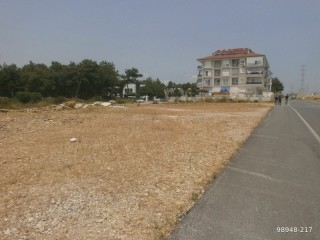 980 m2 COMMERCIAL PLOT NEAR D-400 ON WATERFALL STREET, MANAVGAT