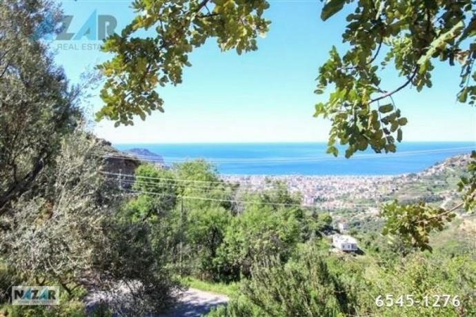 1000-m2-full-sea-and-nature-view-land-for-sale-in-alanya-bektas-big-5