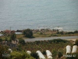 2,000 m2 Land for sale with sea view in Yesiloz Alanya