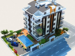 New project apartments for sale in Hurma Konyaalti