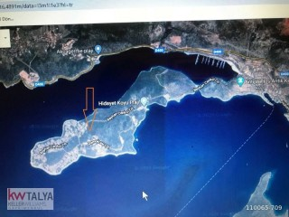 20,334 m2 Land for sale Çukurbağ Peninsula in KAS