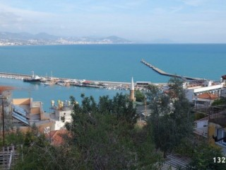 844 m2 VALUABLE LAND FOR SALE IN ALANYA CASTLE FULL VIEW