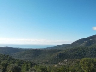 338 m2 RURAL LAND WITH SEA VIEW FOR SALE KAS KALKAN