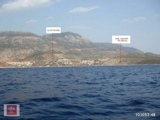 147.001 m2 Land For Sale In Tourism Development In Antalya, Kas, Kalkan