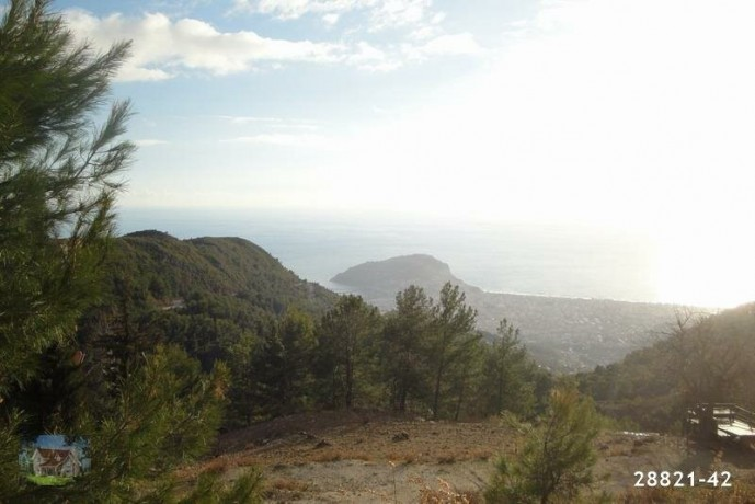 1000-m2-land-with-villa-construction-between-mountains-in-alanya-big-3