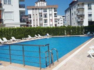 3+1 Apartment with Pool, Fitness Center and Garden in Konyaalti