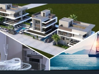 4 + 1 Villa with seview for sale in Urla /iskele Turkey
