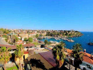 ANTALYA KALEİÇİ COMPLETE BUILDING FOR SALE OLD CITY PICTURESQUE SEA VIEW