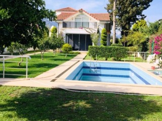Kemer house for sale with pool in town center