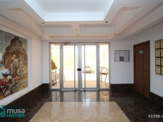 ALANYA LUXURY SITE WITH CASTLE VIEW 6 FLOOR APARTMENT FOR SALE