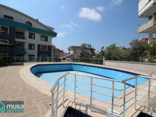 3+1 LUXURY APARTMENT WITH SEPARATE KITCHEN FOR SALE IN ALANYA BÜYÜKHASBAHÇEDE