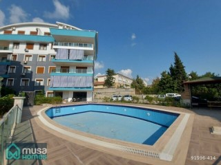 LUXURY 3 + 1 SELF-CATERING APARTMENT FOR SALE IN BUYUKHASBAHÇE IN ALANYA