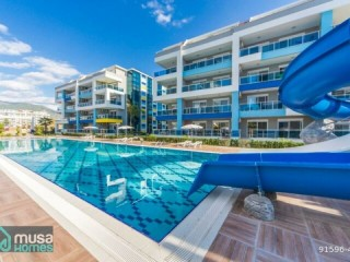 ALANYA KESTEL FULL CONCEPT LUXURY FURNISHED 2 + 1 GARDEN DUPLEX