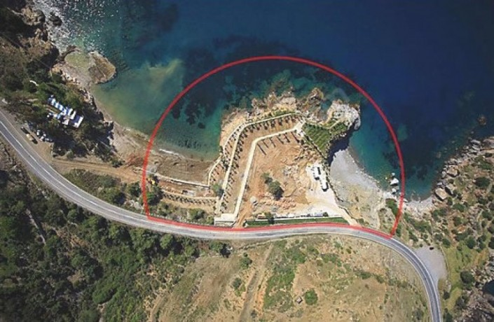 alanya-beachfront-land-for-sale-with-50-bungalow-wooden-house-project-big-1