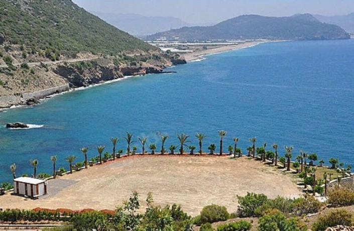 alanya-beachfront-land-for-sale-with-50-bungalow-wooden-house-project-big-2