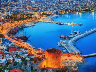 Alanya 4 star hotel for sale 300 bed by Red Castle beach