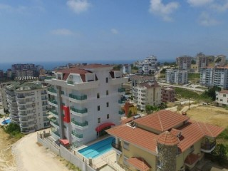 Luxury building Zero 2 + 1 Apartments with Sea View for sale in Avsallar