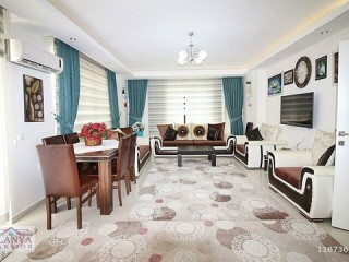 3 + 1 Full Duplex for sale with full sea view in Alanya