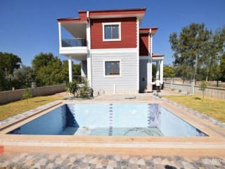 ANTALYA LUXURY BUILT VILLA WITH POOL FOR IMMEDIATE SALE