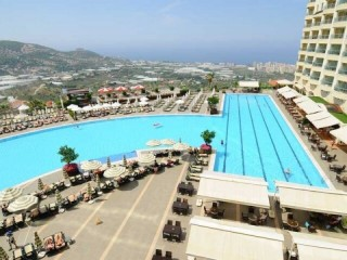 Luxury Villa for daily, weekly, monthly rents in ALANYA Gold City
