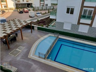 FURNISHED 2 + 1 APARTMENT FOR RENT IN A LUXURY SITE IN SARISU